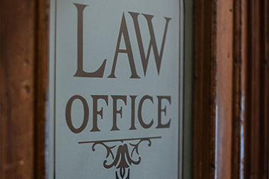 Law-Office-Door